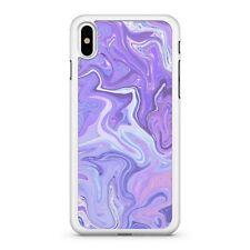 Pretty Purple Fine Pink Cool Blue Swirly Wavy Paint Pattern Phone Case Cover