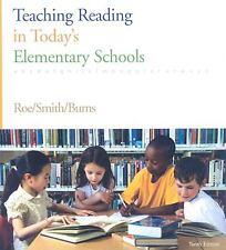 Teaching Reading in Today's Elementary Schools, Burns, Paul C., Smith, Sandra H.