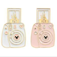 Camera Castle Brooch Cartoon Fashion Enamel Pin Badges Backpack Jacket Gift
