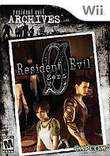 Resident Evil Archives: Resident Evil Zero (Nintendo Wii, 2009) - FREE SHIPPING!
