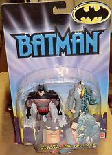 BATMAN   TECH SUIT BATMAN VS TWO FACE      MOC