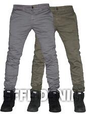 Pantaloni Uomo Casual Cotone Slim Pants Elasticizzati Tasca America Jeans 6388