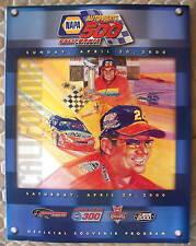 NASCAR OFFICIAL CALIFORNIA SPEEDWAY AUTO PARTS 500 RACE PROGRAM 2000
