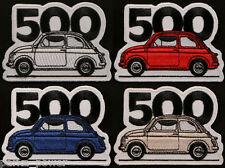 Fiat 500 patch, badge, Cinquecento, Italian cars