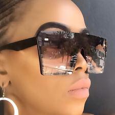 New 2019 Oversized Square Sunglasses Women Driving Outdoor Glasses Eyewear UV400