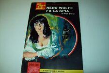 SEGRETISSIMO MONDADORI-N.59-REX STOUT-NERO WOLFE FA LA SPIA-9 AGOSTO 1964-OTTIMO