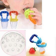 Nuevo Bebé Pezón Alimentación Limpiador de frutas para Alimentos Chupete