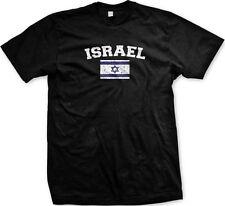 Israel Country Flag Israeli Shalom Pride Football Soccer Mens T-shirt 6c7da44ca