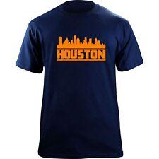 Original Houston Skyline T-Shirt - Baseball Team Colors