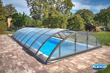 Poolüberdachung Klasik C 10,60m Pool Überdachung Schwimmbadabdeckung