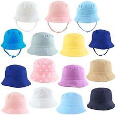 Baby Sun Hat Summer Beach Hat Bucket Cap Boy Girl Toddler Kids Newborn 0-4 Years