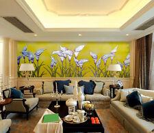 3D Golden Calla Lily Painting 0 Wall Paper Wall Print Decal Wall AJ WALLPAPER CA