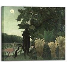 Rousseau incantatore di serpenti quadro stampa tela dipinto telaio arredo casa