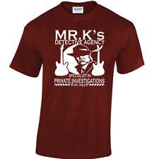 Dire Straits inspirado Camiseta Mark Knopfler Camiseta De Investigaciones Privados 80's