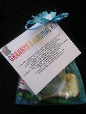 Granny`s Survival Kit Birthday Gift Present Lovely Keepsake Mothers Day & Easter