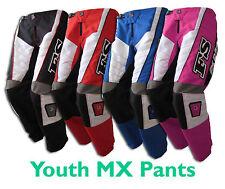 MX Motocross Youth Pants –kids/junior/Dirt Bike Gear/BMX/Quad/Off-road/ATV NEW