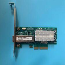 Mellanox ConnectX-3 PCIe x4 NIC 10 Gigabit 10GBe SFP+ Single Port Server Adapte