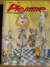 PM Il Piccolo Missionario 5 1988 La Bibbia a fumetti  - Gigitex