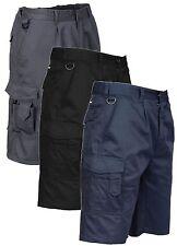 Portwest S790 da Uomo Combat Pantaloncini Workwear-VARI COLORI