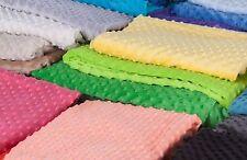 Das Fleece Minky 310 g/m² in 33 Farben 7 € für 1 Meter(AD231)