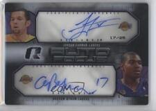2008 Upper Deck Radiance #AFD-BF Jordan Farmar Andrew Bynum Auto Basketball Card