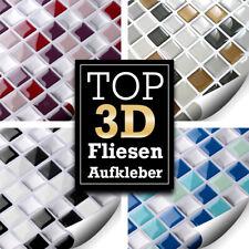 3D Fliesenaufkleber für Küche + Bad Wandaufkleber Fliesenfolie zur Auswahl W5193