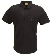 Gabicci Vintage Mens Black Classic Polo Shirt