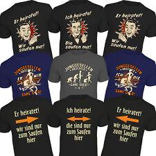 Junggesellenabschied T-Shirts Genial  Funshirt