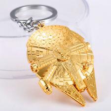 Star Wars Schlüsselanhänger Raumschiff Millennium Falcon Gold / Silber