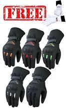 ISLERO Wind Waterproof Thermal Motorbike Motor cycle Gloves Racing Thinsulate