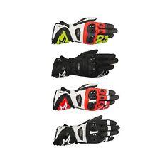 Alpinestars Supertech Leather Motorcycle/Bike/Motorbike Riding Gloves
