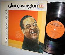 GLEN COVINGTON the versatile voice AUTOGRAPHED stereo banana tree recs LP-101