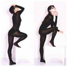 Femme Lycra   Spandex Body Stretch sans Entrejambe Pur Justaucorps  Combinaison e563f2713d9