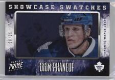 2013 Panini Prime Showcase Swatches SW-DPH Dion Phaneuf Toronto Maple Leafs Card