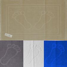 Duschvorleger, Badematte, 50x70 cm, Baumwolle Frottier Frottee, Badvorleger Füße