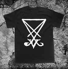 Sigil of Lucifer Shirt - Baphomet Pentagram Satanic Occult Gothic Goat of Mendes