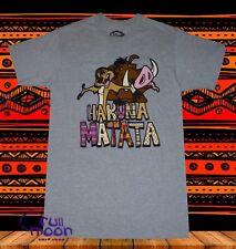 New Disney Lion King Hakuna Matata Timon and Pumbaa Vintage Mens T-Shirt