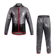 Riding Cycling Jersey Wind Coat Rainsuit Windproof Bike Bicycle Jacket Pants