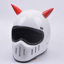2x Nice Helmet Horns Devil Angel Horns Suction Cup Stick On Horns for Harely