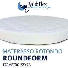 Materasso Rotondo per letto tondo Roundform H 22 cm - Made in Italy - Baldiflex
