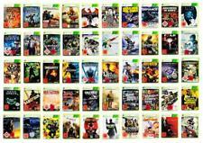 Xbox 360-gran selección de los mejores juegos usk18 + embalaje original-usk18-alemán