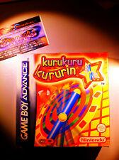 KURUKURU KURURIN ADVANCE NUOVO NEW NINTENDO RARO NDS GBASP