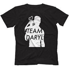 Equipo Daryl Walking Dead Inspirada Camiseta 100% algodón Zombie el gobernador