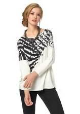 Aniston haut pour femmes 3/4 BRAS pull t-shirt imprimé tunique écru taille 36