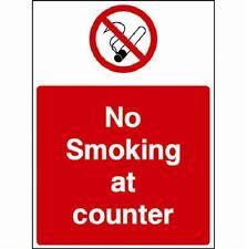 Non fumare a contrastare cartello di avvertimento, Adesivi / Adesivo, IMPERMEABILE, PVC, freep & P
