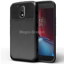 Hybrid Hard Rubber Shockproof Case Cover for Motorola Moto G4/ G4 Plus