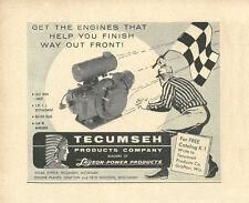Vintage 1960 Tecumseh Lauson Power Products Go-Kart Engine Ad