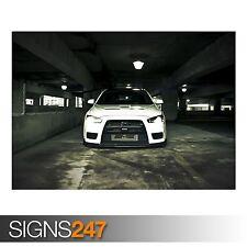 MITSUBISHI UNDERGROUND (AA755) CAR POSTER - Photo Poster Print Art * All Sizes
