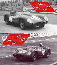 Calcas Ferrari 250 TR Le Mans 1958 12 16 1:32 1:43 1:24 1:18 decals