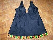 SIMONE Badekleid / Badeanzug NEU Gr. 38 40 42 B & C unterfüttert schwarz & bunt